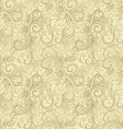Creative hand drawn seamless pattern vector image vector image