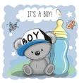 cute cartoon teddy bear boy