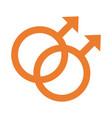 gay gender symbol sexual orientation multy vector image vector image