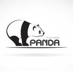 image an panda design vector image vector image