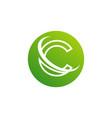 letter c logo icon design template elements vector image vector image