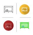 playpen icon vector image vector image