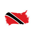 trinidad and tobago flag vector image