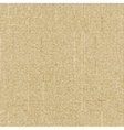 Brown rough sack texture vector image