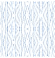Colorful abstract blue seamless pattern grunge vector image