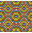 seamless colorful abstract pattern vector image