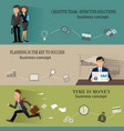 business backgrounds templates with people vector image vector image