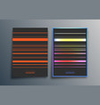 gradient minimal line design for background vector image vector image