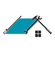 home repair tool symbol vector image