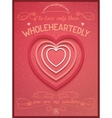 Phrase poster for valentines day vector image