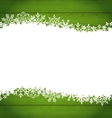 snowflakes border for happy new year space vector image vector image