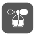 The perfume icon sprayer symbol Flat vector image
