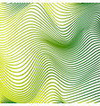 abstract curve lines background yellow modern vector image vector image