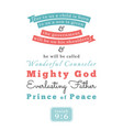bible verse about jesus for print on t shirt vector image vector image