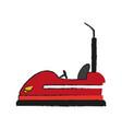 bumper cars icon image vector image vector image