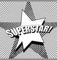 comic monochrome super concept vector image vector image