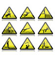 Electrical warning sign vector image