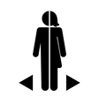 gender differences vector image