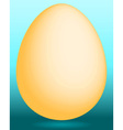 Gold egg vector image vector image