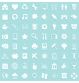 media icon background vector image vector image