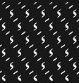 minimalist mesh seamless pattern abstract black vector image vector image