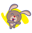 Rabbit Dancing vector image