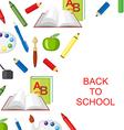 school background3 vector image vector image