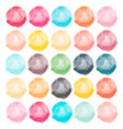 watercolors blobs vector image vector image