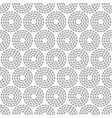 abstract seamless pattern dotted circles vector image