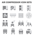 Air compressor fan icon vector image vector image