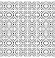 black and white geometric graphic pattern vector image vector image