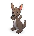cute wallacartoon character vector image vector image