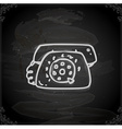 Hand Drawn Telephone vector image vector image