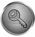icon keys vector image vector image