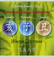 12branches combo bamboo vector image vector image