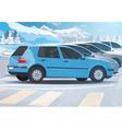 Car parking vector image vector image