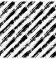 diagonal striped pattern painted vector image vector image