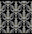 elegant baroque 3d seamless pattern ornate vector image vector image