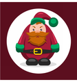 flat character dwarf vector image vector image