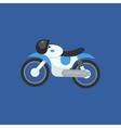 Futuristic Motorcycle Design vector image