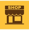The shop icon Store symbol Flat vector image vector image