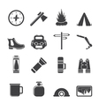 Tourism and Holiday icons vector image vector image