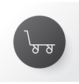 trolley icon symbol premium quality isolated vector image vector image
