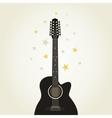 Guitar9 vector image