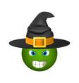halloween smiley emoticons emoji vector image