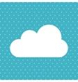 cloud icon design vector image vector image