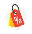 discount percent sign sale percentage vector image vector image