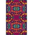 ethnic geometric colorful seamless tribal pattern vector image vector image