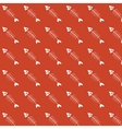 Fish bones pattern vector image