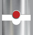 gate with button vector image vector image